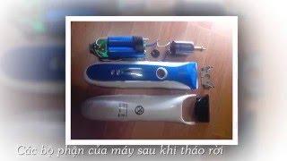 Sửa chữa, thay pin và mạch điện, chế lại máy cắt tóc mini đơn giản nhất