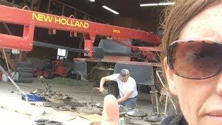 Harvesting First Cut Hay 2017 |  Vlog 24
