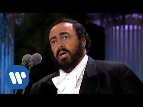 Luciano Pavarotti sings 'Nessun dorma' from Turandot (The Three Tenors in Concert 1994)