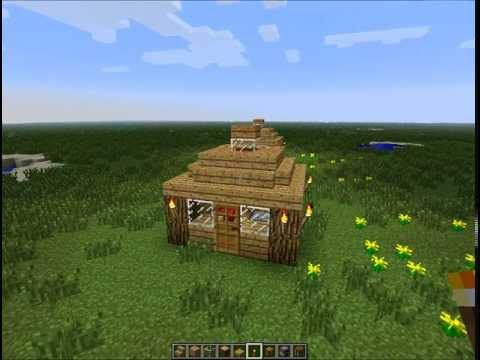 minecraft tiny house. finest minecraft unlucky block challenge games