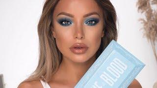 HOW TO WEAR BLUE EYESHADOW (make brown eyes pop!)- Dilan Sabah