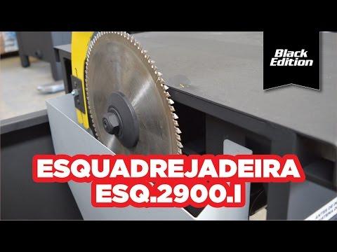 Esquadrejadeira Black Edition 2900Mm 3Cv Maksiwa 127/220V - Vídeo explicativo