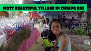 Most Beautiful Village in Chiang Rai Thailand