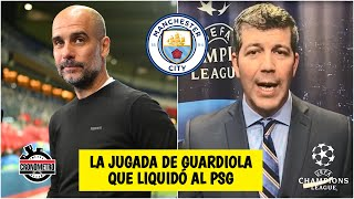 CHAMPIONS La gran jugada MAESTRA de Pep Guardiola para el triunfo del Man City vs PSG | Cronómetro