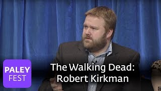 The Walking Dead - Robert Kirkman On Using The Walking Dead Comics As Source Material