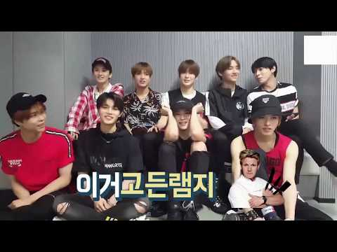 NCT 127의 팀 내 유행어가 난무하는 방송