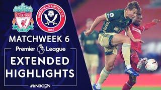 Liverpool v. Sheffield United   PREMIER LEAGUE HIGHLIGHTS   10/24/2020   NBC Sports