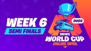 Fortnite World Cup - Week 6 Semi-Finals