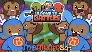 ¡¡¡PEGAR Y REVENTAR!!! | Bloons TD Battles | Mobile Gaming con TheAlvaro845