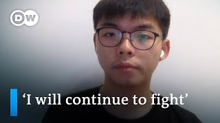 'I will continue to stay in Hong Kong and fight for free elections' Joshua Wong Interview