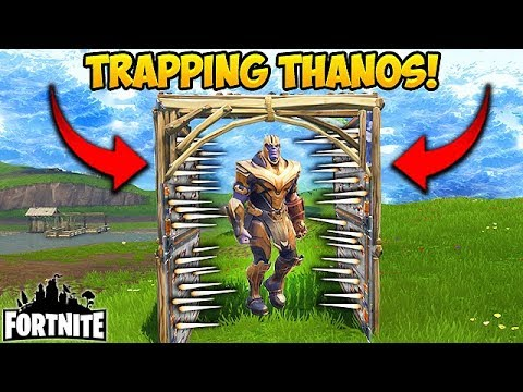Killing THANOS With A TRAP! - Fortnite Funny Fails and WTF Moments! #191 (Daily Moments)