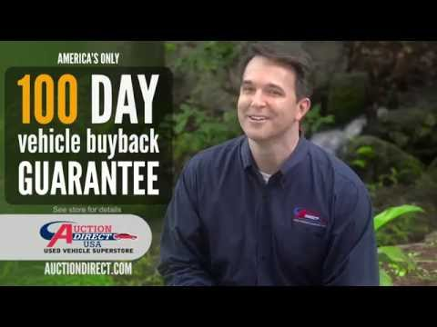 Auction Direct 100 DAY BUYBACK GUARANTEE - Total Peace of Mind