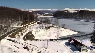 美瑛 冬から春へ 空撮 by ELK4POWER on YouTube