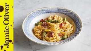 JAMIE'S SPECIALS   Asparagus Carbonara   Jamie's Italian