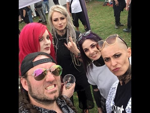 The Courtesans interview Bloodstock 2017 (TotalRock)