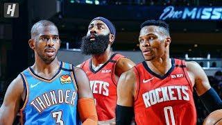Oklahoma City Thunder vs Houston Rockets - Full Highlights   January 20, 2020   2019-20 NBA Season