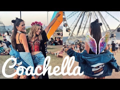 COACHELLA 2018 VLOG: STYLIZACJE FESTIWALOWE!