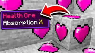 Minecraft but there are Custom Ores…