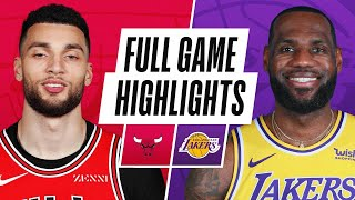 BULLS at LAKERS | FULL GAME HIGHLIGHTS | January 8, 2021