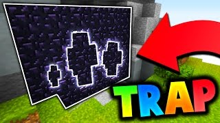 THE BEST OBSIDIAN TRAP EVER?! (Minecraft Bed Wars)