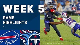 Bills vs. Titans Week 5 Highlights   NFL 2020