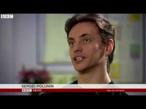 Sergei Polunin BBC News 8/12/2016