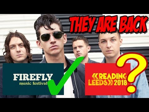 Arctic Monkeys Are Back! Will They Headline Reading And Leeds Festival 2018?
