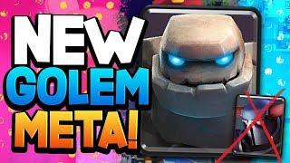 BRAND NEW GOLEM META DECKS! (Beats PEKKA!)