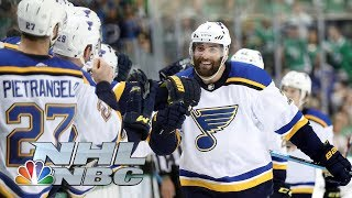 NHL Stanley Cup Playoffs 2019: Blues vs. Stars | Game 3 Highlights | NBC Sports
