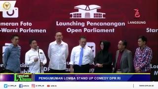 """Rangkaian Acara HUT 73 DPR RI :Grand Final Stand Up Comedy """"Kritik DPR"""""""