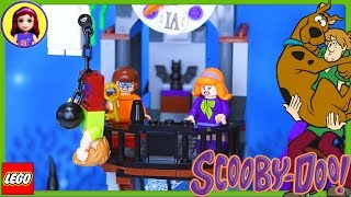 Scooby Doo Mystery Mansion Lego Build Part 2 Review Silly Play - Kids Toys