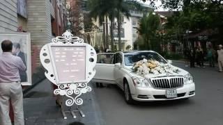 Đám cưới hoa hậu Thu Ngân