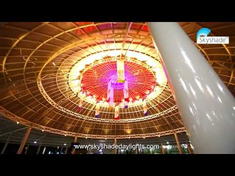International Airport Design | SuperSkylight domes | Tensile Structures