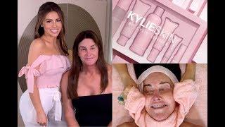 I Gave Caitlyn Jenner A Facial Using All Kylie Skin!? OMG | Jadeywadey180