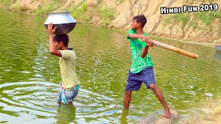 Indian New funny Video😄-😅Hindi Comedy Videos 2019-Episode-51--Indian Fun || ME Tv
