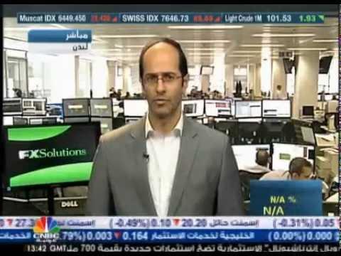 أشرف العايدي على سي ان بي سي العربية --  3 يوليو2013 Chart