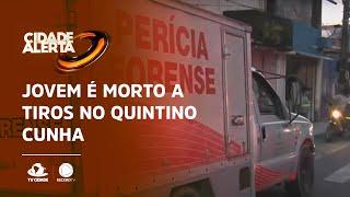 Jovem é morto a tiros no Quintino Cunha