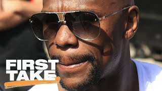 Stephen A. and Max disagree over Floyd Mayweather's undefeated record   First Take   ESPN