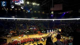 See the Bryce Jordan Center fill in the early moments of Penn State THON 2019