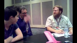 Adventure Time / Regular Show press interview @ NYCC