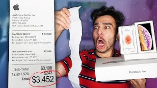 Letting The Person in Front of Me DECIDE EVERYTHING I Buy for 24 Hours! (24 HOUR CHALLENGE)