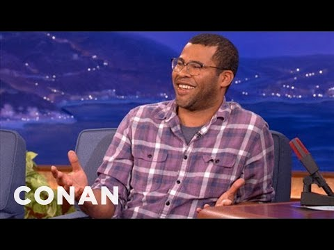 Jordan Peele On Meeting President Obama - CONAN on TBS ...