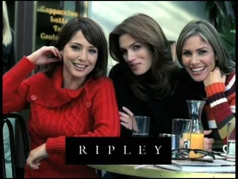 Cindy Crawford, María Elena Swett & Almendra Gomelsky Pants at Ripley
