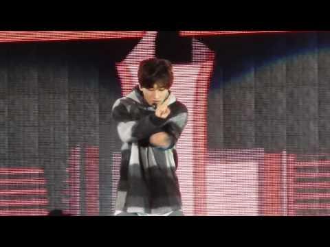 151004 Super junior D&E- Eunhyuk 은혁- Don't wake me up / 1+1=love  @Gangnam K-POP festival