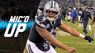 "Dak Prescott Mic'd Up vs. Giants ""Hey Dez Listen, But Don't Pay Attention"" 