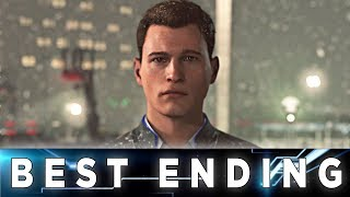Detroit: Become - Connor Perfect Ending // Connor is Free
