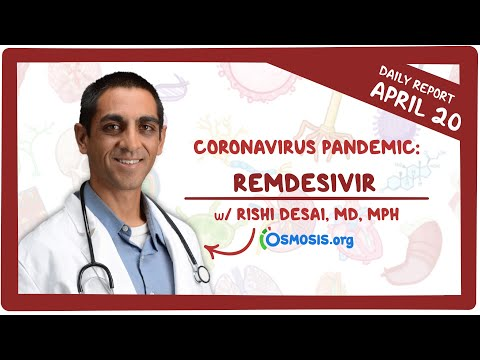 Remdesivir: Coronavirus Pandemic—Daily Report with Rishi Desai, MD, MPH