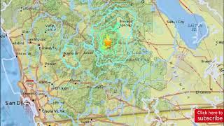 Latest news: Series of earthquakes jostle Julian area
