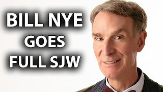 Bill Nye Goes Full SJW, Trashes Whites, Praises Transgenders & Gays