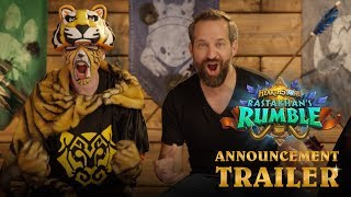 Hearthstone - Rastakhan's Rumble Bejelentés Trailer